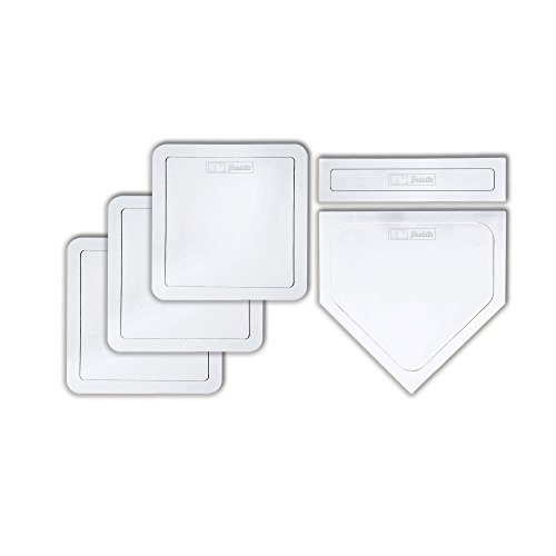 Franklin Sports MLB Throw-Down 5 Piece Rubber-Tek Base Set