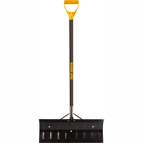 True Temper 24-Inch Steel Blade Snow Pusher - 1639300