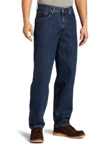 Levi's Men's 560 Comfort Fit Jean, Dark Stonewash, 38x34