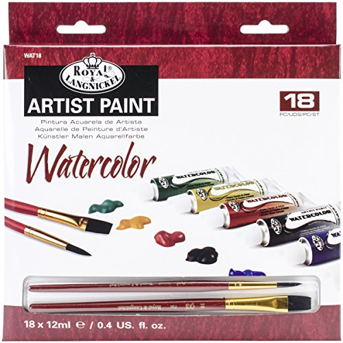 Royal & Langnickel Watercolor Paint, 20-Piece