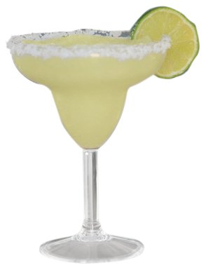 Camco 43902 12 oz Polycarbonate Margarita Glass - 2 pack