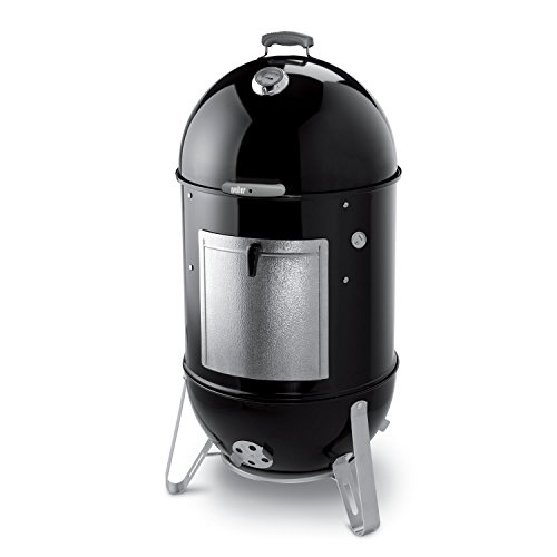 Weber 731001 Smokey Mountain Cooker 22-Inch Charcoal Smoker, Black