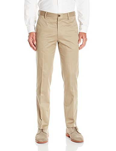 Dockers Men's Slim Fit Signature Khaki Pant D1, British Khaki, 32x32