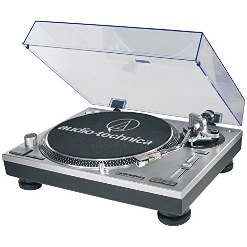 Audio-Technica AT-LP120-USB Direct-Drive Professional Turntable in Silver