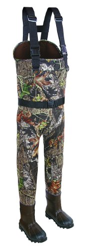 Allen Big Timber Bootfoot Neoprene Chest Waders, Mossy Oak Break-Up Infinity Camo