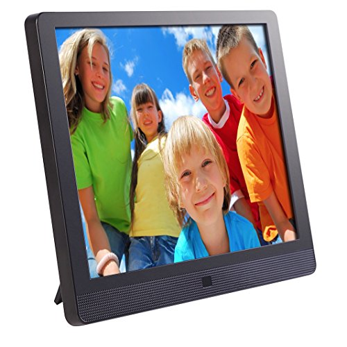 Pix-Star 10.4 Inch Wi-Fi Cloud Digital Photo Frame FotoConnect XD with Email, Online Providers, iPhone & Android app, DLNA and Motion Sensor