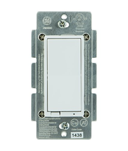 GE Smart Dimmer, Z-Wave, In-Wall, 12724, Works with Amazon Alexa