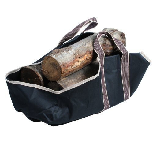 Portable Canvas Heavy Duty Log Carrier Makes Moving Logs Easy