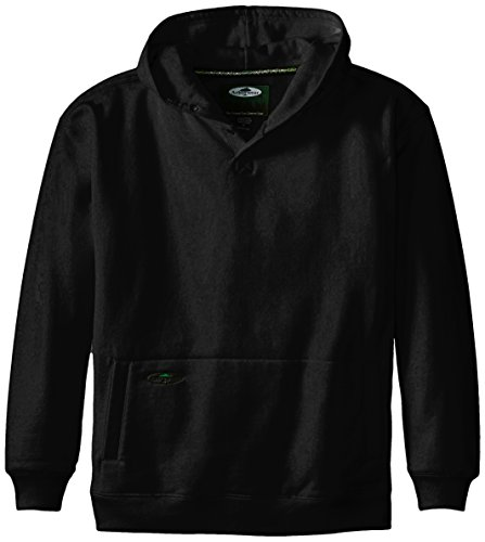 Arborwear Men's Double Thick Pullover Sweatshirt, Black, Large