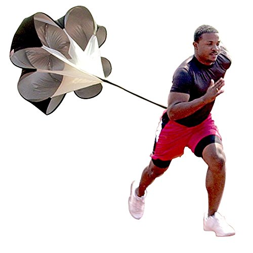 AGPtek  56 inch Speed Training Resistance Parachute Running Chute Power