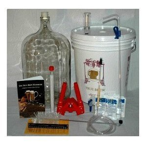 Home Brew Ohio RL-WKZ2-0IJS Gold Complete Beer Equipment Kit