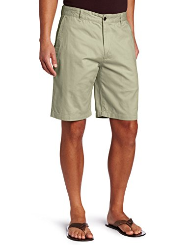 Dockers Men's Perfect Short D3 Classic-Fit Flat-Front Short, Sand Dune, 36