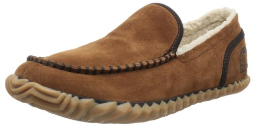 Sorel Men's Dude Moc,Grizzly Bear,10.5 M US