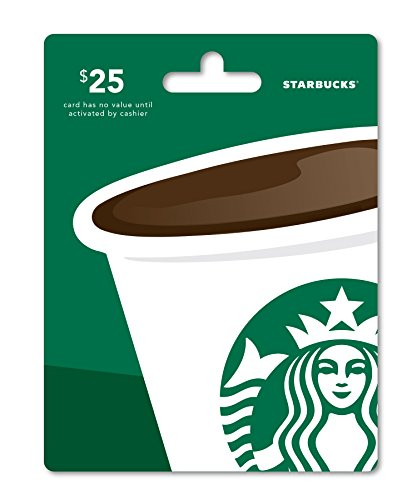 Starbucks Gift Card $25