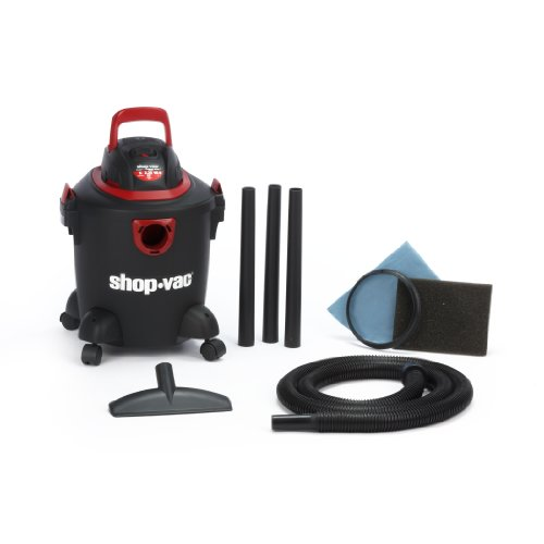 Shop-Vac 2030500 5-Gallon 2.25 Peak HP Aqua Vac Wet Dry Vacuum