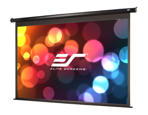 Elite Screens Spectrum, 110-inch 16:9, 4K Home Theater Electric Motorized Drop Down Projection Projector Screen, ELECTRIC110H