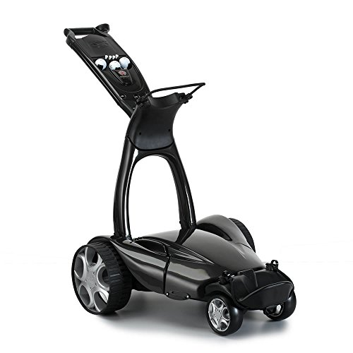 Stewart Golf X9 Follow Golf Cart, Black