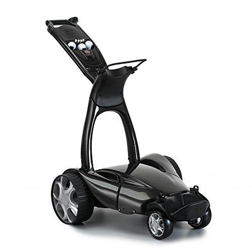 Stewart Golf X9 Follow Golf Cart, Black