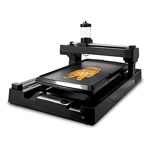 PancakeBot PNKB01BK 3D Food Printer, Black