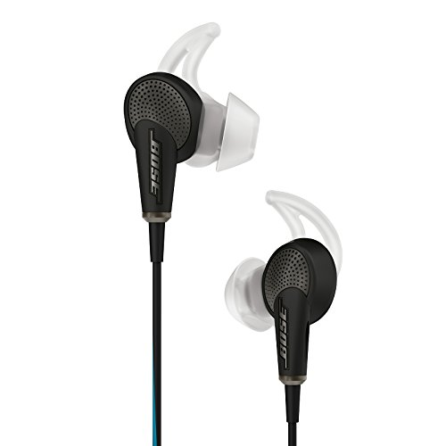 Bose QuietComfort 20 Acoustic Noise Cancelling Headphones, Samsung and Android Devices, Black