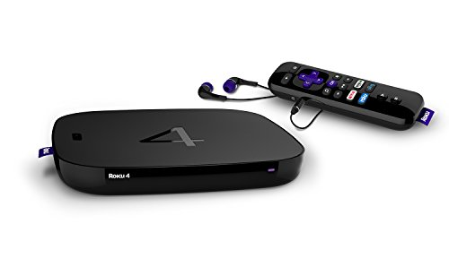Roku 4 Streaming Media Player 4K UHD