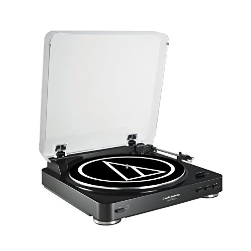 Audio Technica AT-LP60BK-USB Fully Automatic Belt-Drive Stereo Turntable