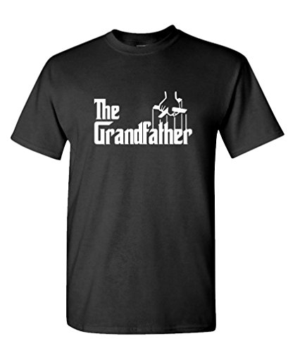 THE GRANDFATHER Funny Father's Day Spoof - Mens Cotton T-Shirt