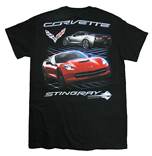 Chevrolet C7 Corvette Sting Ray Men's T-Shirt By Joe Blow Tee's