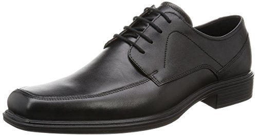 ECCO Men's Johannesburg Gore-Tex Tie Oxford, Black, 44 EU/10-10.5 M US