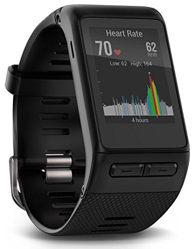 Garmin v voactive HR GPS Smart Watch, Regular fit - Black