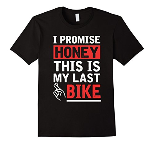Men's Funny Cycling Shirt This is my Last Bike T-shirt Cyclist  Large Black