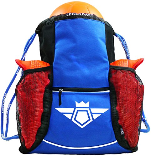 Soccerware Soccer Backpack, XL - Blue